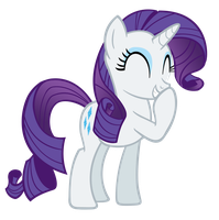 Snickering Rarity is snickering... by TabbyDerp
