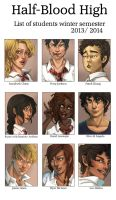 HBH List of Students by Halfbloodhigh