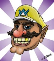 New Evil Wario by Fleischparade