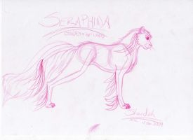 Seraphina concept by ImmortalShande