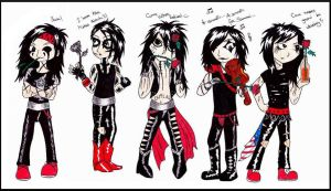 Black Veil Brides by Karcoolkaaa