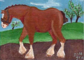 Clydesdale by AbruptlyNatural