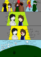 When Slender says no to a party by FabuKyo