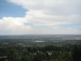 Overlooking Colorado Springs by iGamer