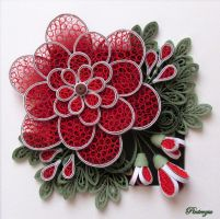 Quilling, inspired by Ayani Art by pinterzsu