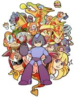 Megaman 2 by evelmiina