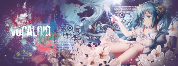 Hatsune Miku Vocaloid Timeline Cover by Ralfarios