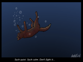 It's so quiet here - Flametail -Spoilers- by SilverMoonNightMist