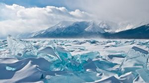 Ice hummocks by dshamanov