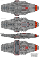 Cygnus class Gunstar internals by XRaiderV1
