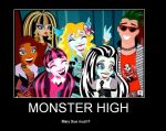 monster high poster by gaahinalover23