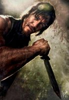 The Walking Dead - Daryl II by kalli-schulz