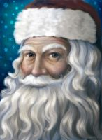 Santa Portrait by Nyrak