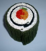 Sushi roll scarf #3 by Nanettew9