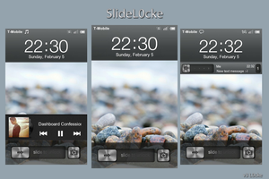 MIUI Lockscreen: SlideL0cke v3 by jpool81