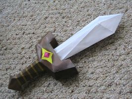 Kokiri Sword papercraft by may7733