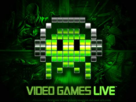 Video Games Live WALLPAPER by JOhnnymaggOT