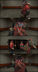 It's Tough Being A Pyro... by DarkPhantom568