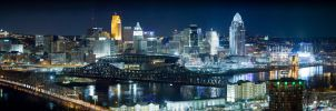 Cincinnati Skyline by ANNIHILATOR001