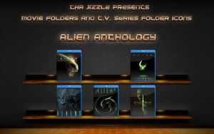 Alien Anthology Movie Folder Icons by ThaJizzle