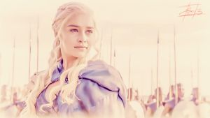 Daenerys Targaryen and the Unsullied by BCValdez