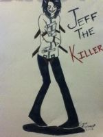 Jeff The Killer by ImTooSexiForMyScarf