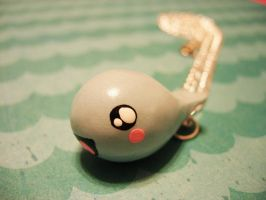 Henry the Whale necklace by pinkDudu