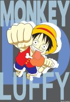 Vector Monkey D. Luffy by libregon