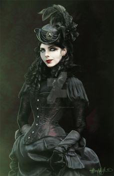 Lady Vampire by MADmoiselleMeli