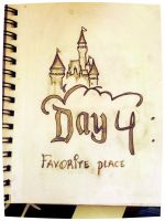 30 Day Drawing Challenge - Day 04: Favorite Place by calidearie