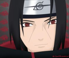 Itachi's Smile by Gomes93k