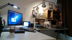 My latest working place 2013 by SantaFung
