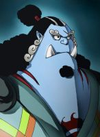 Jinbe by LadyDeadPooly