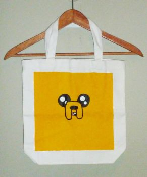 Tote Bag: Jake the Dog by foxtopus-jones