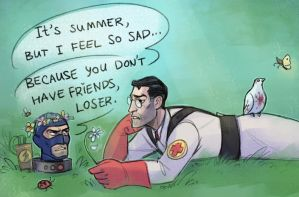 Summer sadness by Kethavel