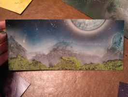 Spray Paint Landscape by lilforensic