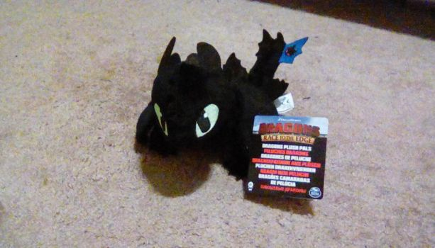 2017 Dragons Race to the Edge Toothless #1 Plush by PokeLoveroftheWorld