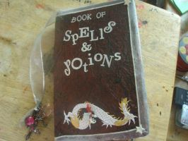 book of spells and potions by pinkgoth101