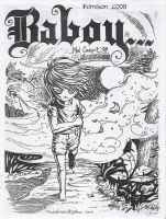 baboy page1 and Cover page by mukatmanako