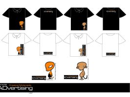 My Unit T shirt and Mascot by wasted-hopeless