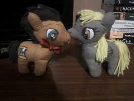 Doctor Whooves and Derpy! A.K.A my best work by YoungLioness