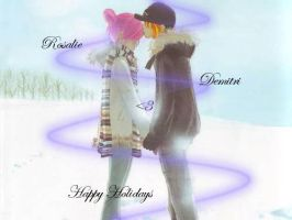 Happy Holidays from Rosa and Demi by NekoNekoPop