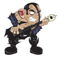 Jerry Only From The Misfits by JaZaDesign
