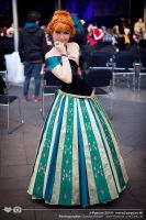 Frozen: Princess Anna by Alvi