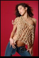 net shirt and felicia by mobiusco-photo