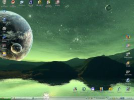 .:My Current Desktop:. by xmod