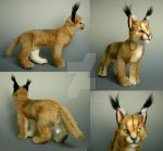 Realistic Caracal Plush V.2 by WhittyKitty