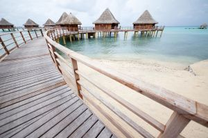 Water Bungalows - 1 by secondclaw