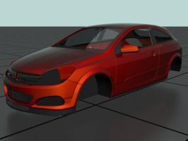 Opel Astra 9 WIP by prox3h