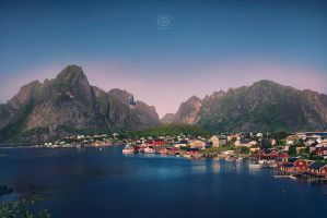 Reine - Lofoten by MD-Arts